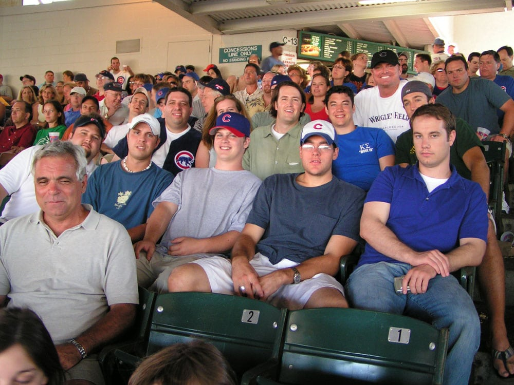 Kappa Sigma event at Cubs game