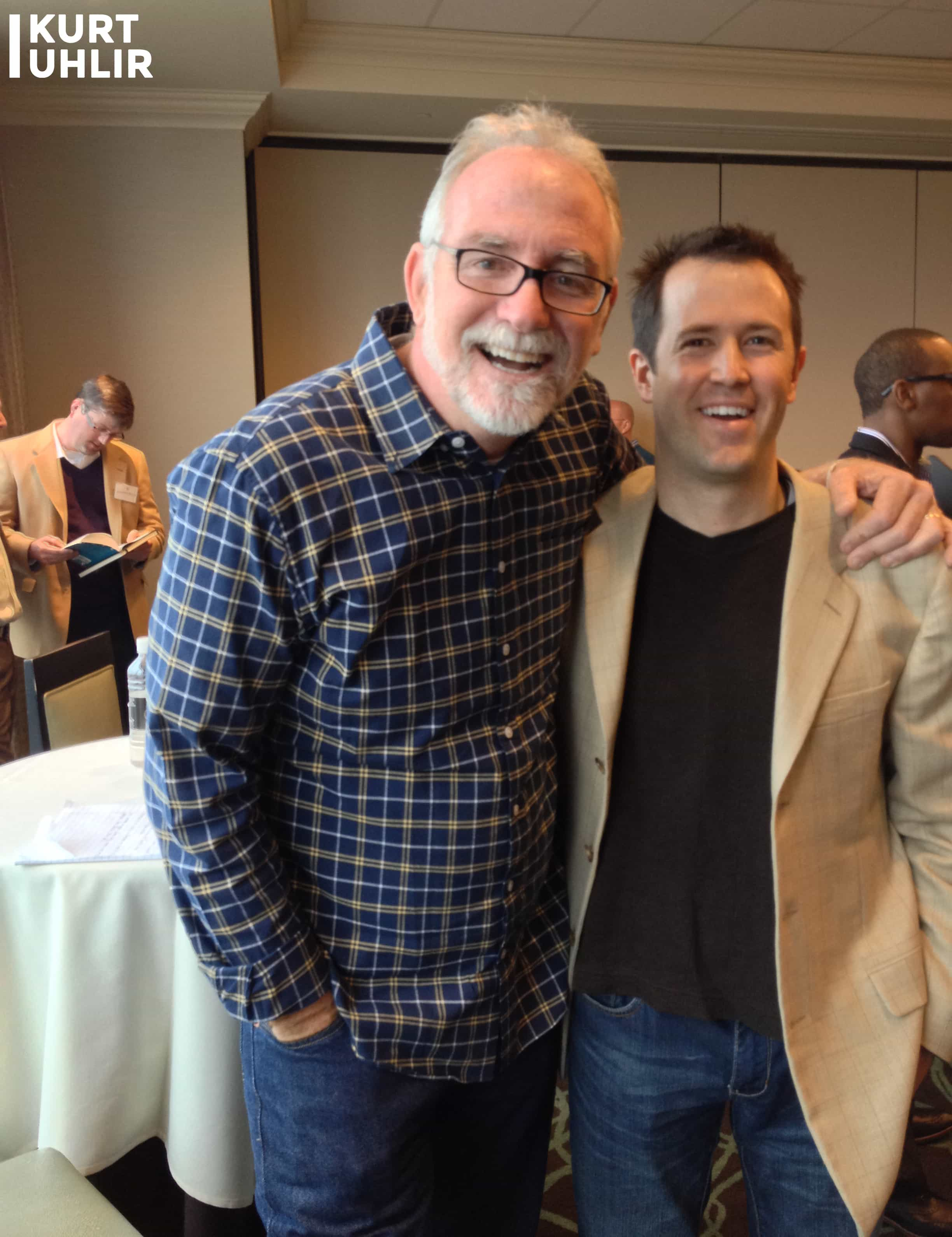 Kurt Uhlir and New York Times Best-Selling Author Bob Goff