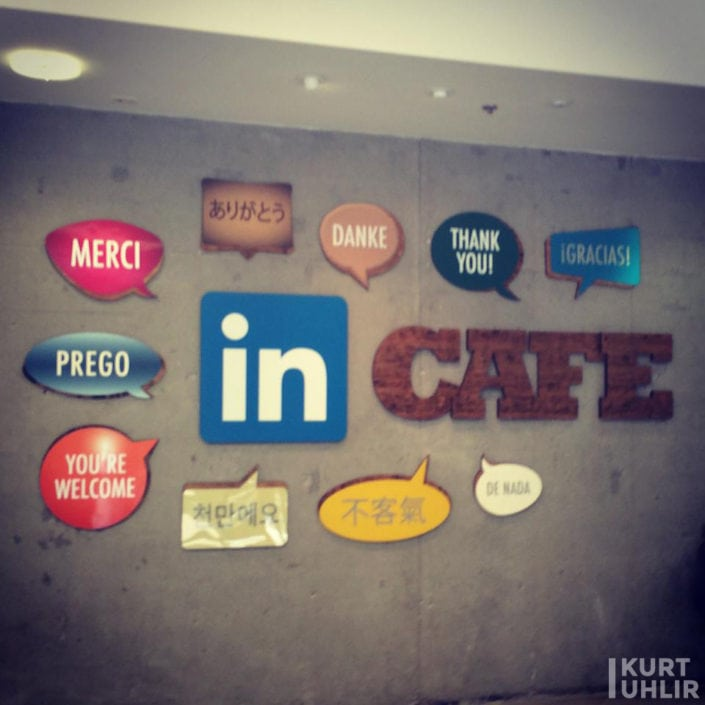 Kurt Uhlir - Cafe at LinkedIn's Headquarters
