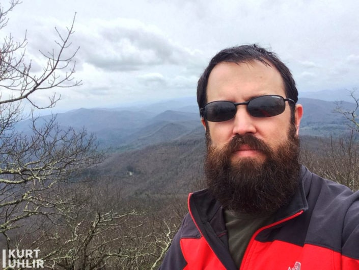 Kurt Uhlir - Top of Blood Mountain on the Appalachian Trail