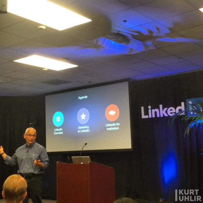 Kurt Uhlir - back at LinkedIn's Headquarters