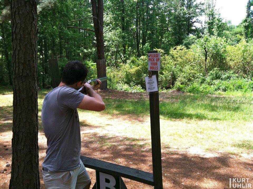 Kurt Uhlir - skeet shoot outside of Atlanta